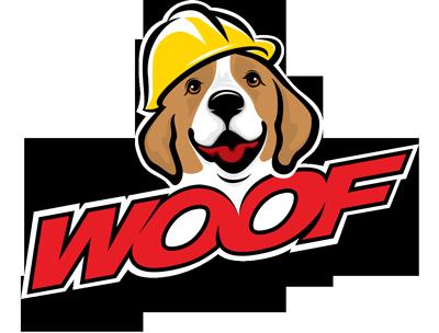 Woof Handyman Logo